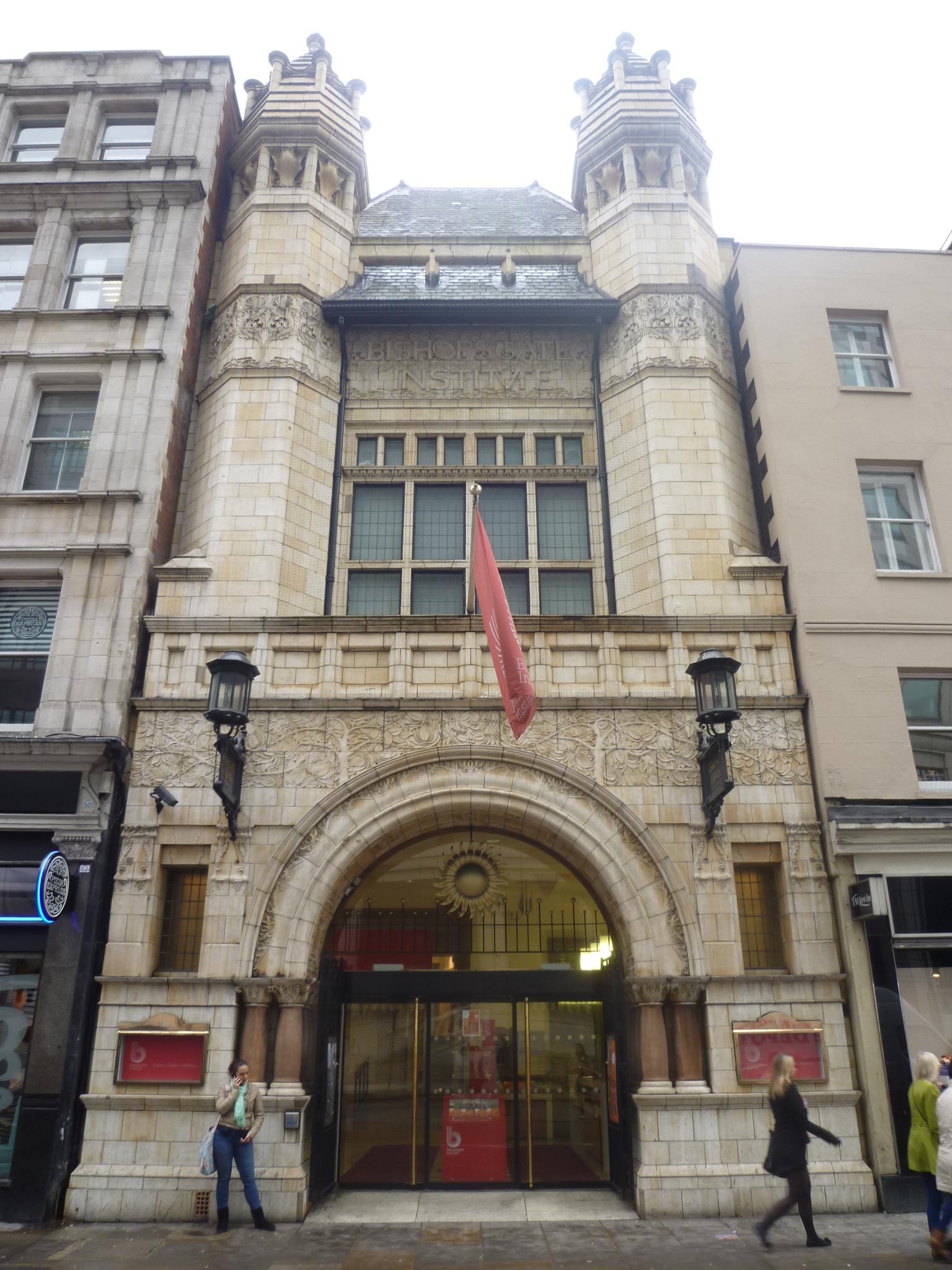 Bishopsgate Institute London Culture24